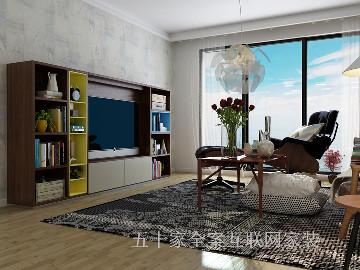 博洛尼五十家   现代简约三居室