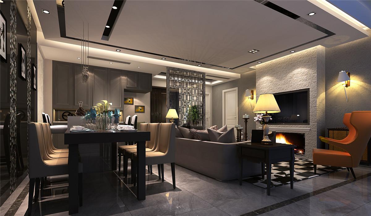 尚汇豪庭 三房装修 现代风格 腾龙设计 章伟作品 客厅图片来自孔继民在尚汇豪庭现代风格设计方案展示的分享