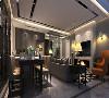 尚汇豪庭大平层项目装修现代风格设计,上海腾龙别墅设计师章伟作品,欢迎品鉴