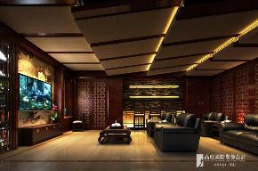 中式 别墅 跃层 复式 大户型 80后 小资 其他图片来自高度国际姚吉智在领秀翡翠山280㎡新中式徽风皖韵的分享