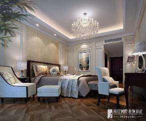 中式 别墅 跃层 复式 大户型 80后 小资 卧室图片来自高度国际姚吉智在领秀翡翠山280㎡新中式徽风皖韵的分享