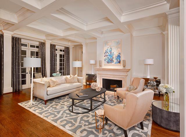 简约 美式 别墅 客厅图片来自别墅设计师杨洋在自然质朴美式生活-龙湖天琅的分享