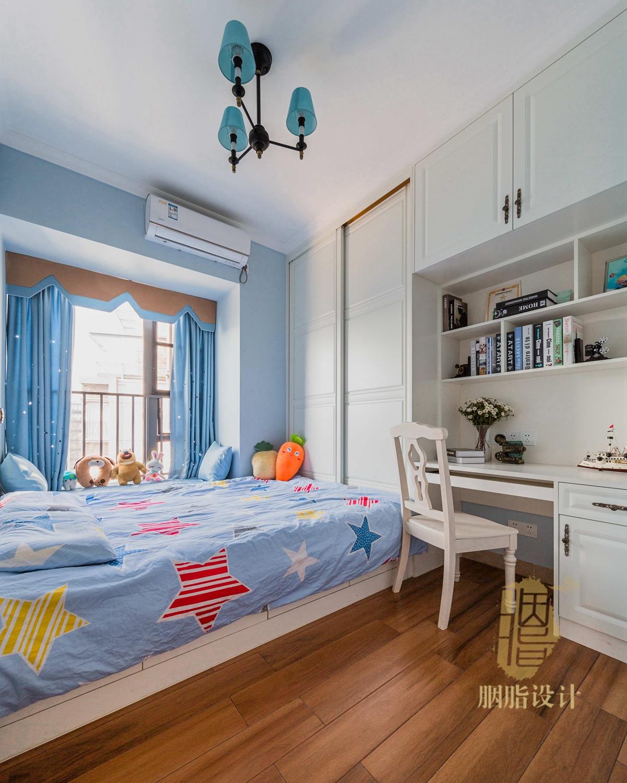 简约 美式 胭脂设计 装修设计 三居 旧房改造 儿童房图片来自设计师胭脂在胭脂原创设计:明日梦想的分享