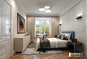现代 简约 二居 白领 收纳 旧房改造 80后 小资 卧室图片来自高度国际姚吉智在98m²现代简约自然温馨的家的分享