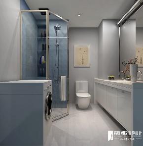 现代 简约 二居 白领 收纳 旧房改造 80后 小资 卫生间图片来自高度国际姚吉智在98m²现代简约自然温馨的家的分享
