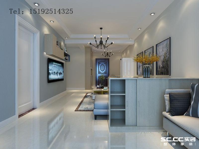 二居 青岛 二手房 翻新 装修 客厅图片来自快乐彩在浮山后六小区现代简约二居90平的分享