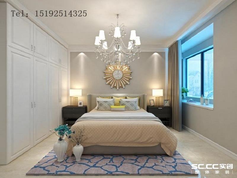 三居 美式 海信 绍兴路66号 卧室图片来自快乐彩在海信·绍兴路66号129平装修的分享