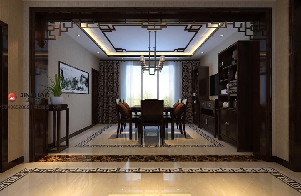 餐厅图片来自装家美在阳光汾河湾148平米中式风格的分享