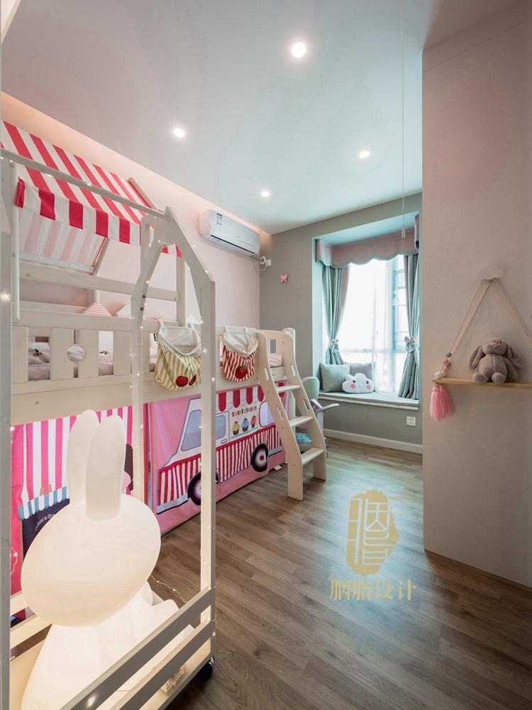 简约 三居 旧房改造 现代 胭脂设计 装修设计 儿童房图片来自设计师胭脂在米米のSuper Show的分享