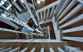 新古典 别墅 跃层 复式 大户型 80后 小资 楼梯图片来自高度国际姚吉智在317平米古典别墅走心的设计的分享