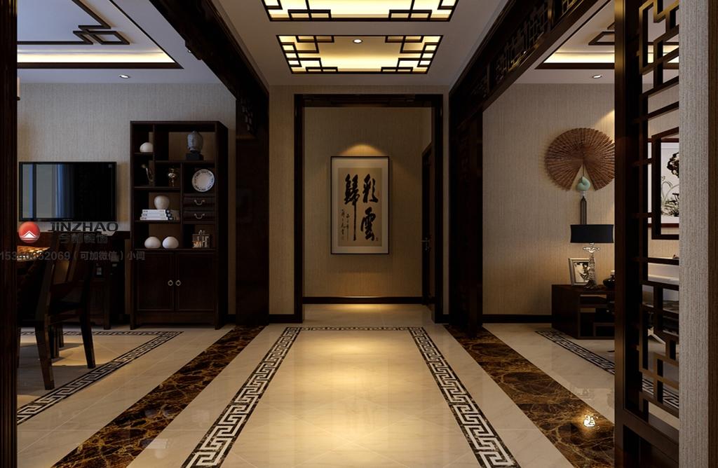 玄关图片来自装家美在阳光汾河湾148平米中式风格的分享