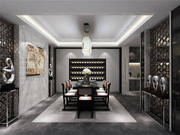 硅谷商墅别墅装修现代风格设计!