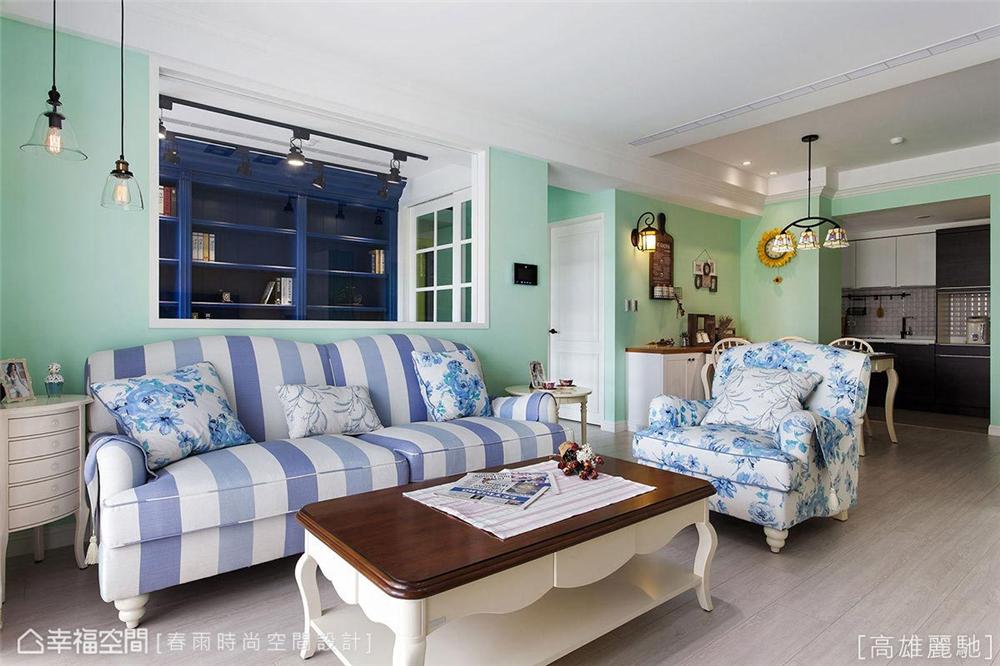 装修设计 装修风格 混搭 极简 客厅图片来自幸福空间在83平,美式乡村风与极简工业风】的分享