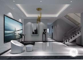 别墅 简约 现代 装修设计 小资 楼梯图片来自大业美家 家居装饰在别墅装修设计的分享