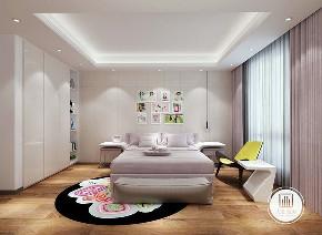别墅 简约 现代 装修设计 小资 儿童房图片来自大业美家 家居装饰在别墅装修设计的分享