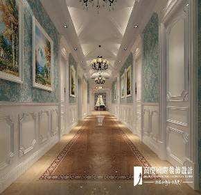 欧式 新古典 别墅 跃层 复式 大户型 80后 石上清泉 玄关图片来自高度国际姚吉智在石上清泉500平米欧式新古典时尚的分享