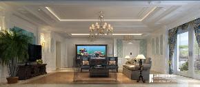 欧式 新古典 别墅 跃层 复式 大户型 80后 石上清泉 客厅图片来自高度国际姚吉智在石上清泉500平米欧式新古典时尚的分享