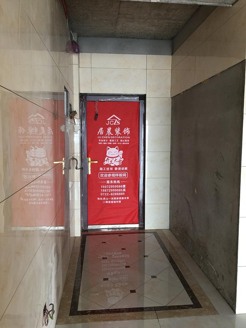 欧式 简约 小资 玄关图片来自广水市居晨装饰在福锦 张府雅居的分享