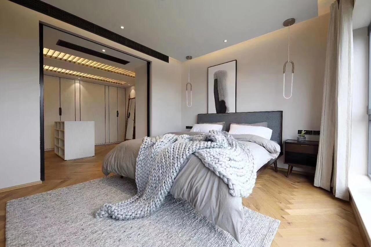 卧室图片来自峰淘朵朵在轻奢北欧,引领家装新风尚的分享