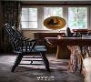 茶室  注入思考与创意,是设计开始的前提。而物产丰富的大自然则为设计提供了源源不断的灵感基因,柔和的光、古朴的木以及点缀的绿植,令空间拥有生命力与诗意的同时,也为设计找到了表达的自由。
