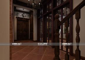 美式 别墅 碧桂园 楼梯图片来自百家装饰LL在碧桂园 300平美式风格的分享