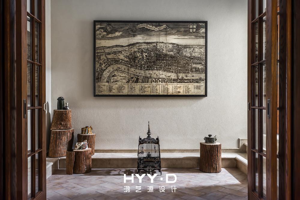 美式风格 别墅 别墅软装 阳光房 其他图片来自郑鸿在晴海一墅--万科东海岸室内设计的分享