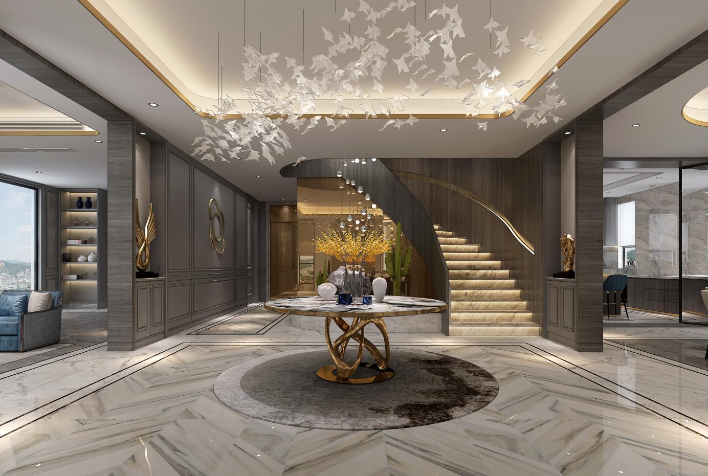 乔爱庄园 别墅装修 欧式风格 腾龙设计 客厅图片来自孔继民在乔爱庄园别墅装修欧式风格设计的分享