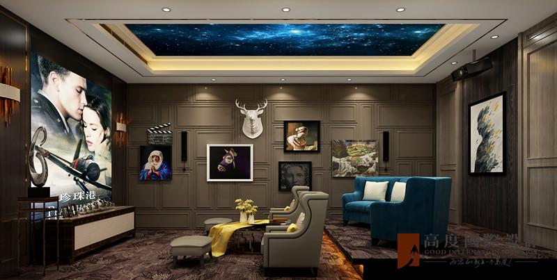 现代 别墅 大户型 跃层 复式 80后 小资 其他图片来自高度国际姚吉智在金科天玺650平米现代轻奢别墅的分享