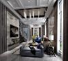 华贸东滩双拼别墅项目装修新古典风格设计,上海腾龙别墅设计师祝炯作品,欢迎品鉴