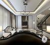 楼盘名称:瑞府别墅 案例风格:新中式   案例户型:别墅   户型面积:300-500㎡   别墅设计师戴老师采用黑白灰的水墨元素来理解新中式的精髓。