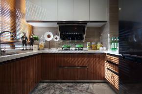 北欧 三居 大户型 复式 跃层 别墅 80后 小资 厨房图片来自高度国际姚吉智在139平米北欧家居品味生活的情趣的分享
