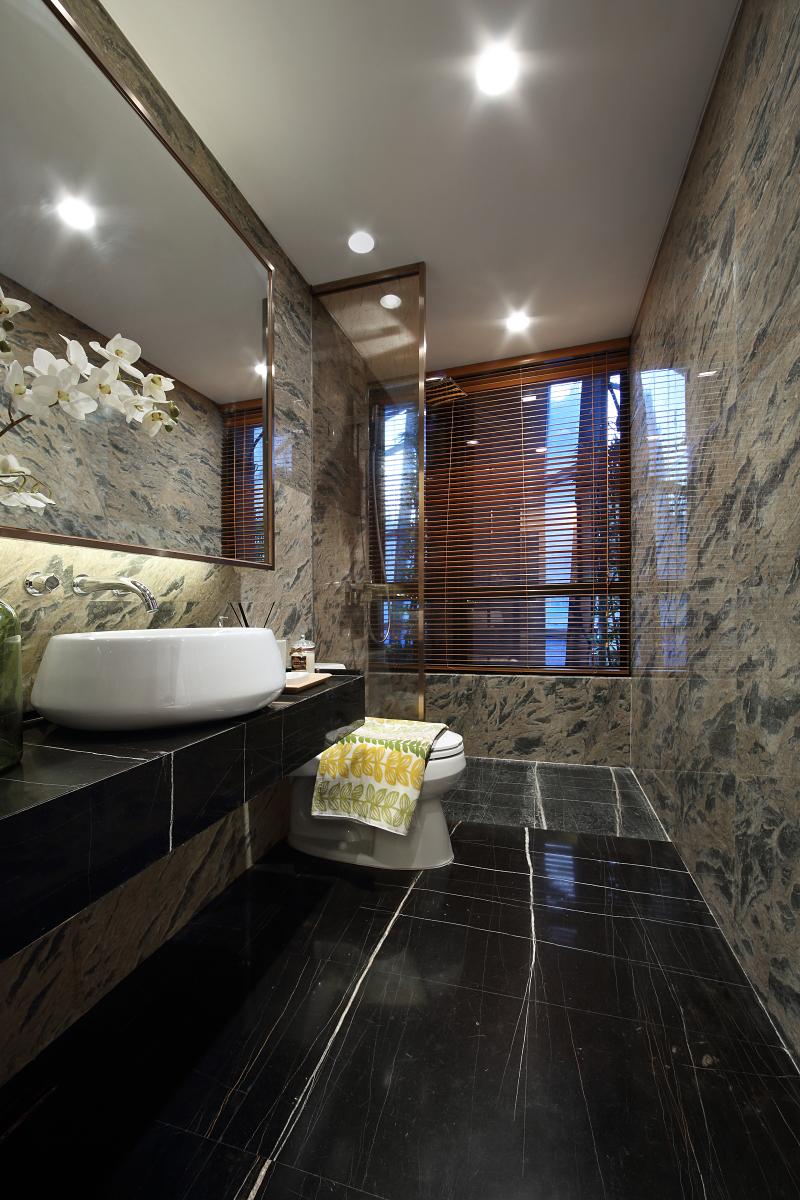 北欧 三居 大户型 复式 跃层 别墅 80后 小资 卫生间图片来自高度国际姚吉智在139平米北欧家居品味生活的情趣的分享