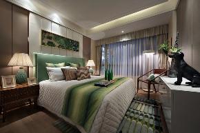 北欧 三居 大户型 复式 跃层 别墅 80后 小资 卧室图片来自高度国际姚吉智在139平米北欧家居品味生活的情趣的分享