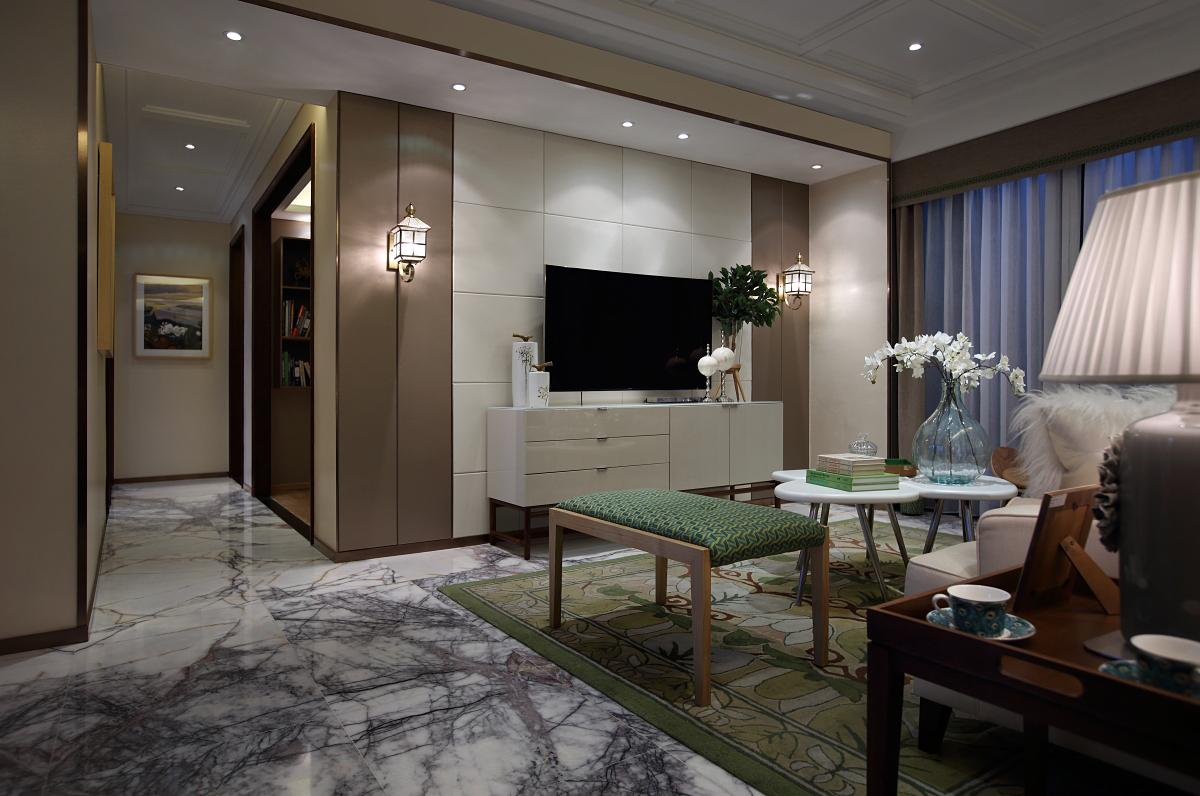 北欧 三居 大户型 复式 跃层 别墅 80后 小资 客厅图片来自高度国际姚吉智在139平米北欧家居品味生活的情趣的分享