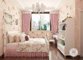 美式 荣盛华府 三居 儿童房图片来自大业美家 家居装饰在荣盛华府推荐:美式设计风格的分享