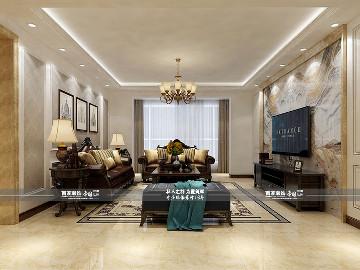 坤泰新界170平欧式风格半包6.8万