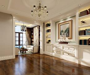 美式 别墅 跃层 复式 大户型 80后 金地中央世 书房图片来自高度国际姚吉智在金地中央世家750平米美式别墅的分享