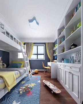 美式 简约 三居 80后 小资 儿童房图片来自西安城市人家装饰王凯在简美柔情的分享