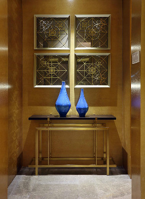 现代 简约 四居 大户型 复式 跃层 80后 小资 白领 玄关图片来自高度国际姚吉智在176平米现代简约生活的质感的分享