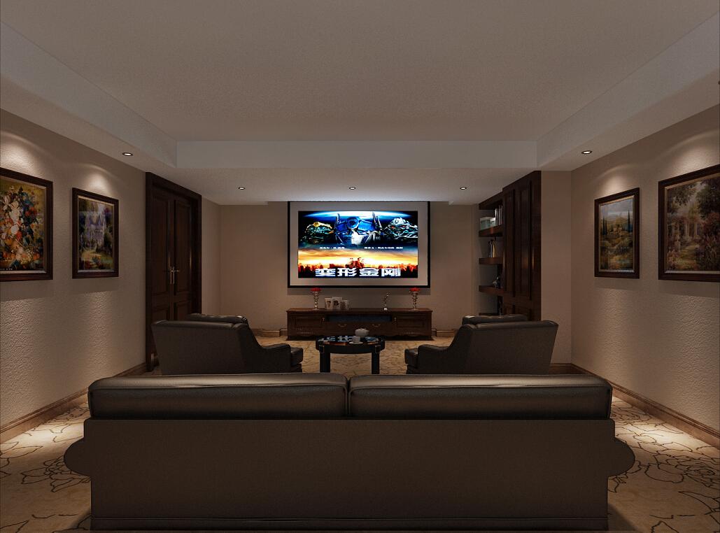 大华西郊 别墅装修 新中式风格 腾龙设计 卧室图片来自腾龙设计在大华西郊别墅项目装修新中式的分享