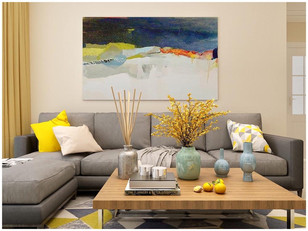 简约 三居 小资 客厅图片来自装家美在当代MOMA沿湖城102平米效果图的分享