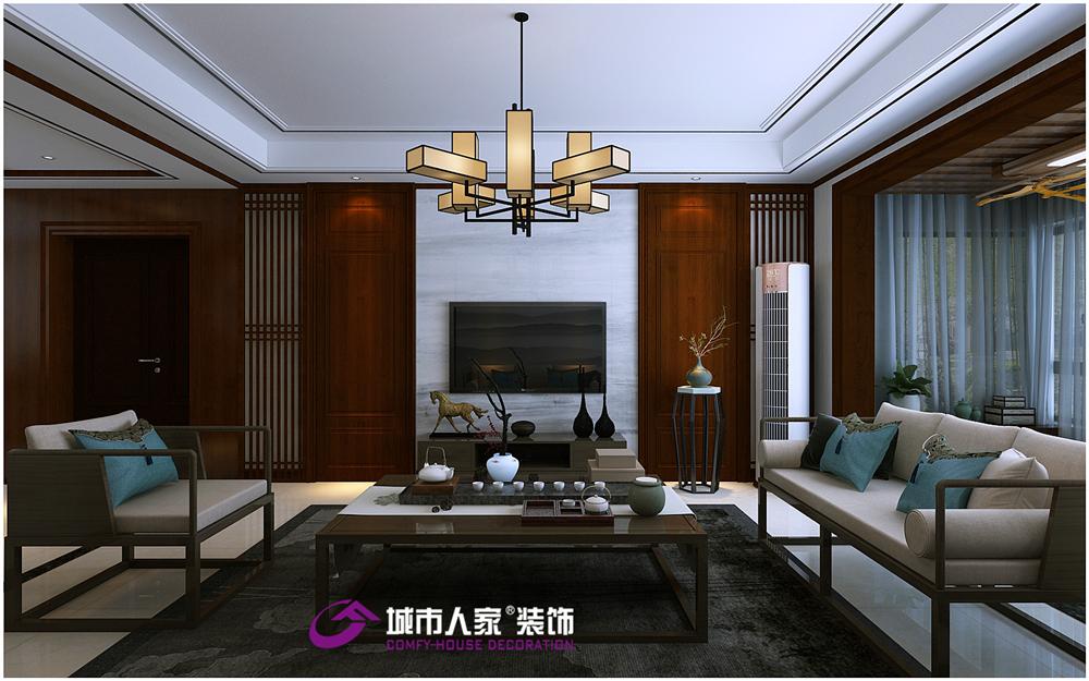 简约 欧式 客厅图片来自济南城市人家装修公司-在恒大翡翠华庭装修精装房装修改造的分享