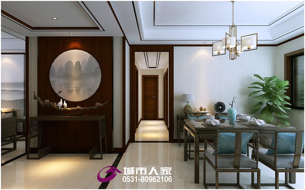 简约 欧式 玄关图片来自济南城市人家装修公司-在恒大翡翠华庭装修精装房装修改造的分享