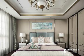 新古典 别墅 跃层 复式 大户型 80后 小资 卧室图片来自高度国际姚吉智在远洋傲北365㎡亚洲新奢华风格的分享
