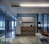 前厅是来访者进入的第一个空间,也是企业对外的直接宣传渠道,一个简约又极具设计感的前厅,有利于塑造高端的企业形象。