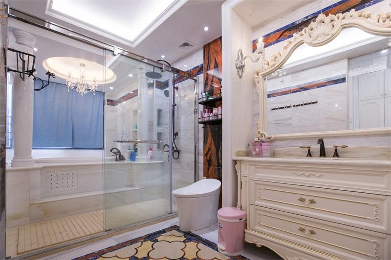 卫生间图片来自装家美在阳光揽胜157平米欧式效果图的分享
