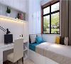 紫苹果装饰御景华府119平米现代风格卧室装修案例