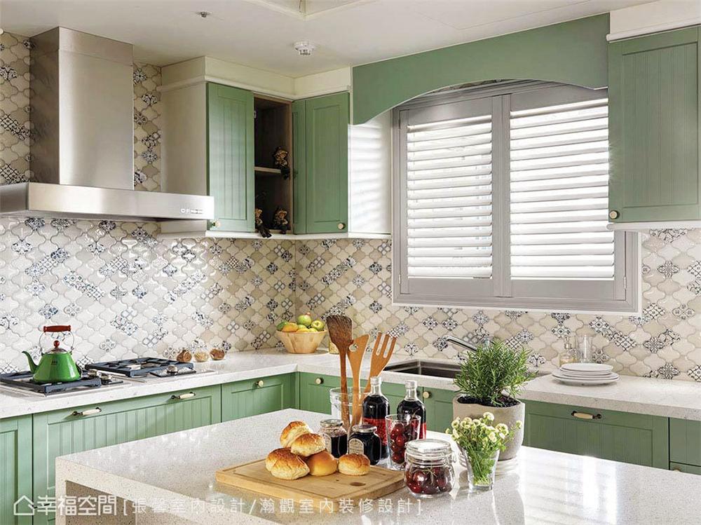 装修风格 室内设计 居家风格 美式风格 80后 小资 厨房图片来自幸福空间在145平,美式织梦庄园-儿童房的分享