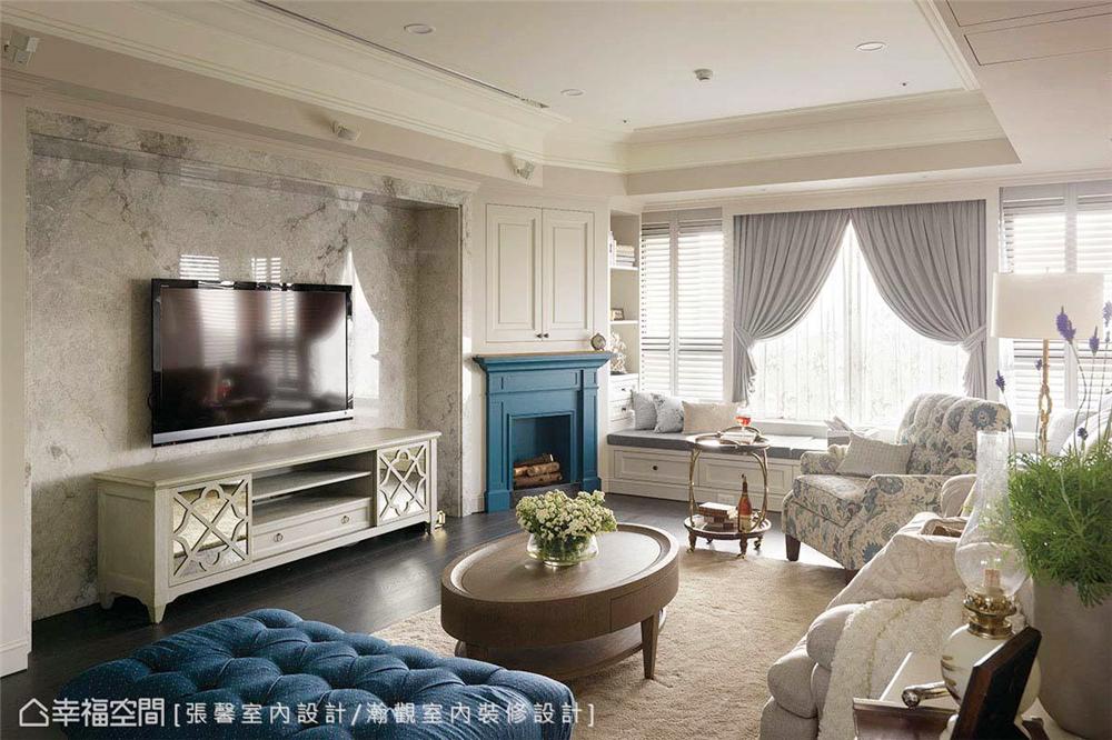装修风格 室内设计 居家风格 美式风格 80后 小资 客厅图片来自幸福空间在145平,美式织梦庄园-儿童房的分享