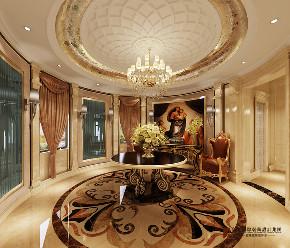 欧式 别墅 跃层 复式 大户型 80后 小资 玄关图片来自高度国际姚吉智在珠江壹千栋1000㎡欧式独栋别墅的分享
